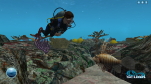Dr. Earle encounters an invasive species in Infinite Scuba