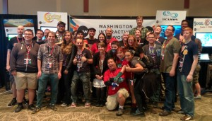 WIN's awesome crew of 8 WA indies at PAX.