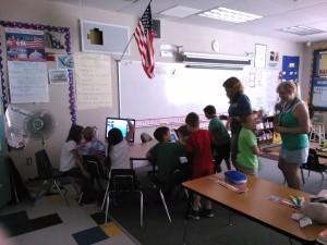 Mrs. Mayer's class, Lyman WA